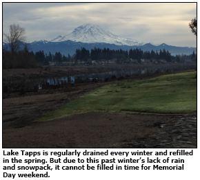 Lake Tapps, Washington. (Image Courtesy of Washington State Department of Ecology)
