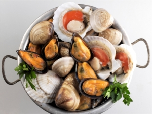 Shellfish in a collander. Credit: www.adelphiaseafood.com