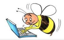 busy bee studying -